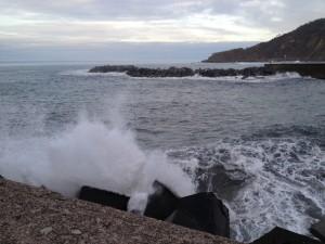San Sebastian breakwater