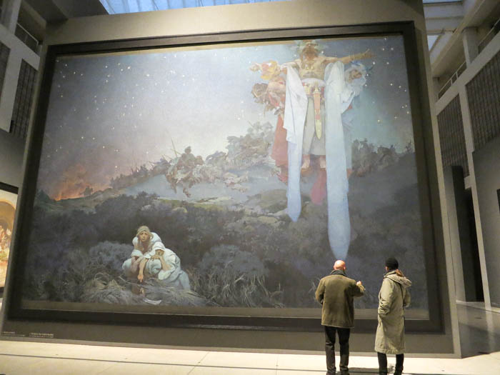 From the Slav Epic by Alfons Mucha, National Gallery, Prague